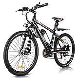 Vivi Ebike Elektrofahrrad Mountainbike, 26 Zoll E Bike Elektrofahrrad Damen Herren 350W Elektrofahrräder mit Abnehmbare 36V 8Ah Lithium-Batterie und Shimano...