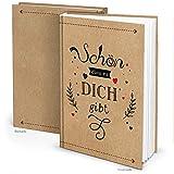 Logbuch-Verlag Notizbuch SCHÖN DASS ES DICH GIBT DIN A4 Liebe Herz Geschenk Buch zum Selberschreiben DIY Freundschaftsbuch Jahrestag beste Freundin