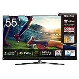 Hisense 55U8QF QLED 139cm (55 Zoll) Fernseher (4K ULED HDR Smart TV, Ultra Premium HD, HDR10+, Dolby Vision&Atmos, Full Array Local Dimming, 120Hz Panel,...