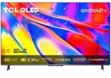 TCL 50C721 QLED Fernseher 50 Zoll Smart TV (4K UHD, Quantom Dot, 100% Farbvolumen, Android 11, Dolby Vision Atmos, MEMC, ONKYO, Google Duo, Google Assistant &...
