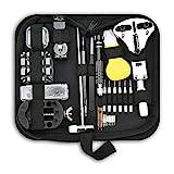 Uhrmacherwerkzeug Set 153 TLG, Uhrenwerkzeug Set Professionelle Uhr Reparatur Tasche für die Meisten Uhren von Iordan