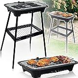 2IN1 Stand - und Tischgrill 2000W / Elektro Grill für Barbecue Balkon und Indoor