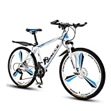 WGXY Fahrrad, Mountainbike, Ultra-Large Ultra-Wide Tire, 26 Zoll 21/24/27 Speed Bike, Männer Frauen Student Variable Speed Bike, MTB Fahrrad mit 3 Cutter...
