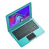 TOPOSH Laptop Mini Notebook 10,1 Zoll 2 GB RAM + 32 GB SSD Intel Atom X5-Z8350 Quad-Core Grafik 1,92 GHz, Laptop mit US-Tastatur, Grün