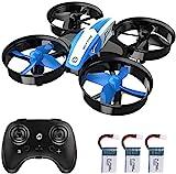Holy Stone HS210 Mini Drohne für Kinder,RC Quadrocopter Mini Drone mit 3 Akkus,21 Min. Lange Flugzeit,Automatische Höhenhaltung,360°Rollen,Kopfloss Modus,One...