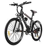 Vivi Ebike Mountainbike Elektrofahrrad, 26 Zoll Elektrisches Fahrrad 350W E-Bike Elektrofahrräder mit Abnehmbarer 36V 8Ah Lithium-Batterie, Shimano 21-Gang (26...
