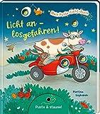 Mein Puste-Licht-Buch: Licht an - losgefahren!: Fahrzeuge-Pappebuch mit Puste-Licht und LED-Lämpchen, für Kinder ab 18 Monaten