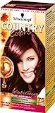 SCHWARZKOPF COUNTRY COLORS Intensiv-Tönung, Haarfarbe 75 Madagascar Rotschwarz, Stufe 2, 3er Pack (3 x 123 ml)