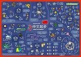 mindmemo Lernposter - Chinesisch für Anfänger - spielend Chinesisch lernen Kinder Vokabeln lernen mit Bildern Lernhilfe Poster DIN A2 42x59 cm PremiumEdition...