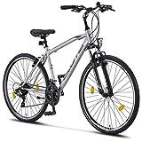 Licorne Bike Premium Trekking Bike in 28 Zoll - Fahrrad für Jungen, Mädchen, Damen und Herren - Shimano 21 Gang-Schaltung - Herrenfahrrad - Jungenfahrrad -...
