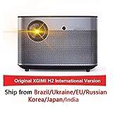 KAR H2 1920 * 1080 Dlp Full-HD-Projektor 1350 ANSI-Lumen Projektor 3D Unterstützung 4K Android WiFi Bluetooth Beamer