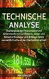 Technische Analyse: Chartanalyse der Finanzmärkte und Aktientrends mit Candlesticks. Aktien und Börse für Einsteiger und Anfänger leicht verständlich...