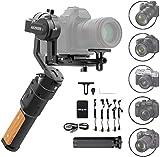 FeiyuTech AK2000C Gimbal 3 Achse Stabilisator für Spiegelreflexkamera/Sspiegellose/DSLR Kamera wie Sony a9/a7/A6300/A6400,EOS R,M50,80D,GH4,GH5,Nikon...