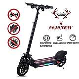 Faltbarer Elektroroller Für Erwachsene E Scooter - Leistung 1200 W - 48 V / 22 Ah - Höchstgeschwindigkeit 50 Km/H E-Roller - CE-Zertifiziert(Perfekter...