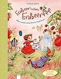 Erdbeerinchen Erdbeerfee. Mein zauberhaftes Anzieh-Spiel-Buch: Mit 40 wieder ablösbaren Glitzer-Stickern. Pappbilderbuch ab 3 Jahren