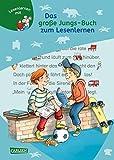 LESEMAUS zum Lesenlernen Sammelbände: Das große Jungs-Buch zum Lesenlernen: Einfache Geschichten zum Selberlesen – Lesen lernen, üben und vertiefen