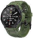 EIGIIS Smart Watch, wasserdichte Militärische Taktische Sportuhren Outdoor Aktivitäts Tracker mit Herzfrequenzmesser, Schrittzähler Fitness Tracker Uhr mit...