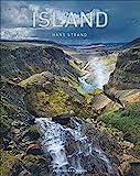 Island. Exklusiver, großformatiger Bildband mit außergewöhnlichen Landschaftsbildern des preisgekrönten Fotografen Hans Strand. Erstklassige Aufnahmen von...