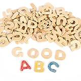NUOLUX DIY Holz Buchstaben zum Basteln und Bemalen für Kinder