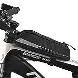 FINSHN Professionelle Fahrradrahmen Energie-Beutel Großer Stauraum Touring Aerodynamik Bike Oberrohr Radfahren Kraftstoff Beutel Lebensmittel-Beutel...