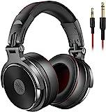 OneOdio Over Ear Kopfhörer mit Kabel, HiFi Studiokopfhörer mit Hi-Res, 50mm Treiber, Share-Port, Große Ohrmuscheln, 6,35 & 3,5mm Klinke, Geschlossene DJ...