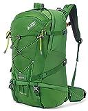 Terra Peak Flex 40 Wanderrucksack 40L grün unisex Outdoorrucksack für Wandern, Radfahren, Reisen, Sport wasserabweisendes Material, Trinksystem mit...