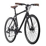 Adore Cityrad Herren 28' Urban-Bike UBN77 schwarz Alu-Rahmen RH46cm