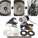 L-faster Neue Ankunft 250W elektrischer Umwandlungs-Installationssatz für allgemeines Fahrrad-linker Ketten-Antrieb kundengebunden für elektrisches gearedes...