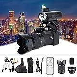 Digitalkamera, 33MP HD D7300-Fernbedienung 3,0-Zoll-TFT-Bildschirm-Camcorder-Kamera mit 8-Fachem Digitalzoom 1080P HD-Video Integrierter 128-MB-Speicher +...