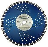 PRODIAMANT Profi Diamant-Trennscheibe Kurz-Zahn Beton/Granit Laser 350 mm x 25,4 mm Diamanttrennscheibe 350mm