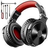 OneOdio Bluetooth Kopfhörer Over Ear [Bis zu 80 Stdn & BT 5.0] Bass Kopfhörer Kabellos mit Mikrofon für Freisprechen, HiFi Faltbares PC Headset mit Kabel,...