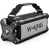 W-KING 50W(70W Gipfel) Bluetooth Lautsprecher IPX6 Wasserdicht, 24 Stunden Laufzeit, 8000mAh Power Bank, 30 Meter Reichweite, Tragbare Bluetooth Speaker Box...