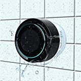 Bluetooth-Duschlautsprecher, Haissky Portable Bluetooth Lautsprecher tragbarer Waterproof Wireless Speaker Wasserdicht mit Radio...