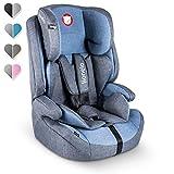Lionelo Nico Kindersitz 9-36kg Kindersitz Auto Gruppe 1 2 3 Seitenschutz 5-Punkt Sicherheitsgurt abnehmbare Rückenlehne regulierbare Kopfstütze ECE R44 04...