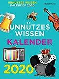 Unnützes Wissen Kalender 2020 ABK: 366 skurrile Fakten, die kein Mensch braucht