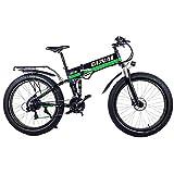 GUNAI Mountainbike Fahrrad 26 Zoll Fetten Reifen-Straßen-Fahrrad-Strand/Schnee-Fahrrad mit Hydraulischen Scheibenbremsen und Federungs-Gabel