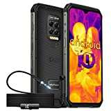 Ulefone Armor 9 Outdoor Smartphone mit FLIR-Wärmebildkamera & Wasserdichtem Endoskop 6.3 Zoll FHD+ 64MP Kamera 128GB ROM+8GB RAM 6600mAh IP68 Wasserdicht Handy...