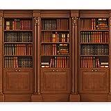 murando Fototapete Bücherregal 300x210 cm Vlies Tapeten Wandtapete XXL Moderne Wanddeko Design Wand Dekoration Wohnzimmer Schlafzimmer Büro Flur Bücher...