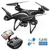 SNAPTAIN SP650 1080P Drohne mit Kamera für Erwachsene für Anfänger mit Sprachsteuerung, Gestensteuerung, Kreisflug, Hochgeschwindigkeitsrotation, Höhen...