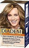 Diadem Seiden-Color-Creme 722 Dunkelblond Stufe 3, 3er Pack(3 x 170 ml)