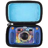 Aproca Hart Schutz Hülle Reise Tragen Etui Tasche für Vtech Kidizoom Duo/Duo DX/Pix/Twist Digitale Kamera (Blue-Upgraded)