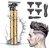 Haarschneidemaschine Profi 0 mm, Haarschneider Herren Elektrisch Haartrimmer, Barttrimmer für Männer,Langhaarschneider Bartschneider...