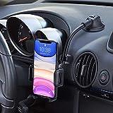 Mpow Handyhalter fürs Auto Handyhalterung Armaturenbrett & Windschutzscheiben 2 in 1 Universale KFZ Handyhalterung Smartphone Stoßfest-Stabilisator-Design...