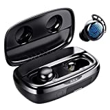 Bluetooth Kopfhörer in Ear, Tribit 100 Std. Spielzeit USB-C Ladebox Schnellladung, Bluetooth 5.0 IPX8 Wasserdicht, Touch Sensoren, in-Ear Deep Bass Eingebautes...