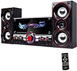 Lautsprecher, Soundbar-Halterung unter Fernseher mit 2 Mikrofonen 3D-Stereoanlage mit Subwoofer HiFi-Unterstützung AUX TF USB-Eingang für Heim-TV-PC