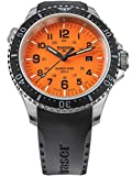 traser H3 Herren-Taucheruhr P67 SuperSub Orange mit Kautschukband 109380
