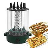 LWKBE Elektrische rotierende Grill Maschine vertikale BBQ Grill rauchlose rotisserie ofen rotierender Grill Grill elektrisch rauchlosen grillgrill