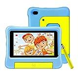 vankyo S7 Kinder Tablet 7 Zoll, 2GB RAM, 32GB ROM, 5MP Kamera, Tablet Kinder mit Schutzhülle und Stift, Kidoz Vorinstalliert, Elternkontrolle, Ideal für...