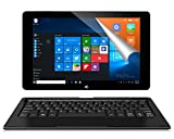 ALLDOCUBE iwork10 Pro 2-in-1 Tablet mit Tastatur, Windows Tablet, 10.1' IPS 1920x1200 Bildschirm, Intel Quad Core CPU, 4GB RAM 64GB ROM, Windows 10 + Android...