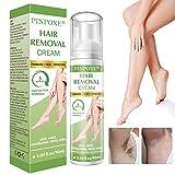 Enthaarungscreme, Haarentfernungscreme, Hair Removal Cream, Enthaarungsmittel Schmerzlose für Bikini/Unterarm/Brust/Rücken/Beine/Arm und Privater Bereich,...